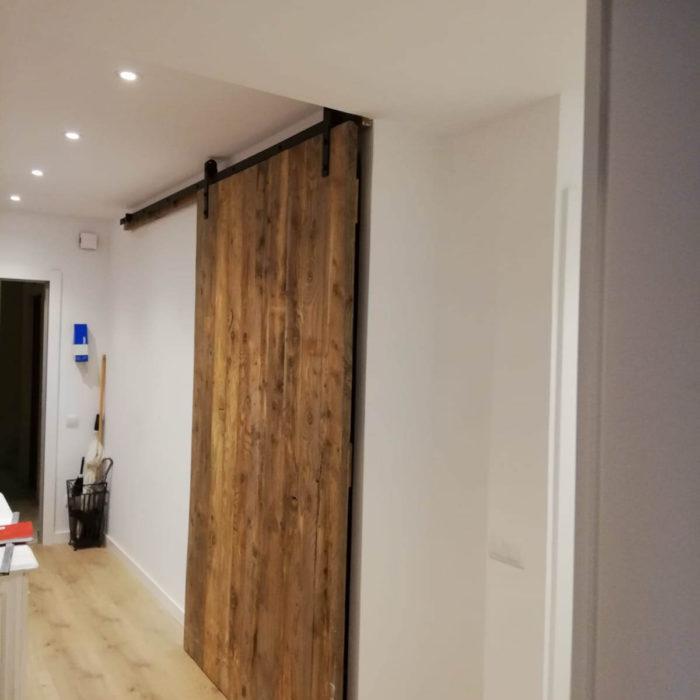puerta granero carpintero Barcelona Carpinteria Francisco Moreno
